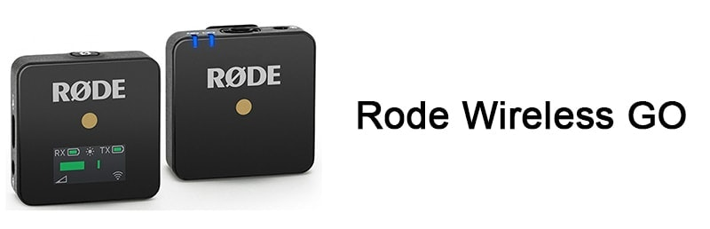 Rode Wireless GO микрофон для ютуба